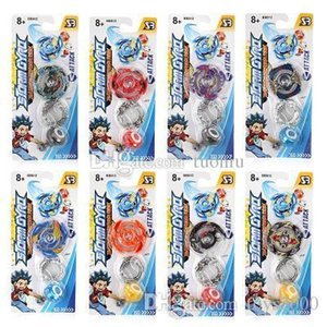 New Toupie Beyblade Burst Beyblades Metal Fusion with Color Box Gyro Desk Top Game For Children Gift BB812 Without Launcher DHLShipping
