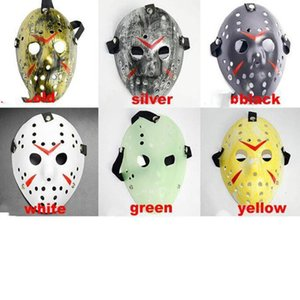 Jason masks Terrorist masks For Adults Mask Scary Halloween Cosplay Festival Party Mask Jason Voorhees Skull Mask 13th Horror YSY104