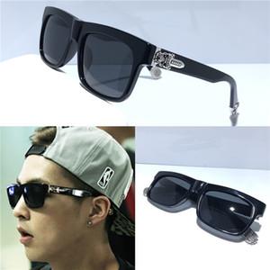 Модельер солнцезащитные очки SLUSS BUSSIN маленькая черная квадратная оправа простой классический стиль uv400 защиты очки высшего качества