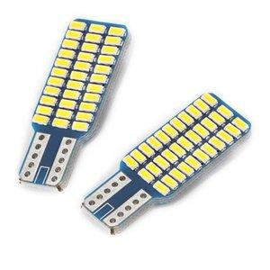 2 Adet / Seti LED Araç Ampuller Işıklar Lamba Beyaz 12V 6000K T10 Canbus W5W 168 194 Sinyal Plaka Gövde Gümrükleme Isınma