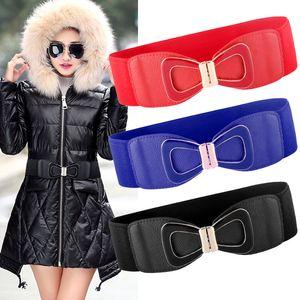 Belt Canvas Belts Red Leather Fashion Big Women Corset Ladies Wide For Dress Coat Elastic Women Coat Stretch Femme Belt Designer Bags Wumpe