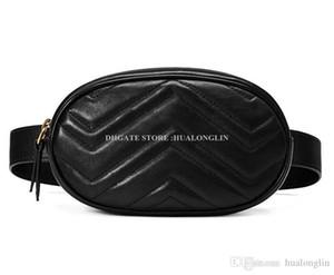 Натуральная кожа талии сумка женщины Marmont сумка высокое качество оригинальная коробка бренд дизайнер известный новая мода молния мягкий продвижение скидка