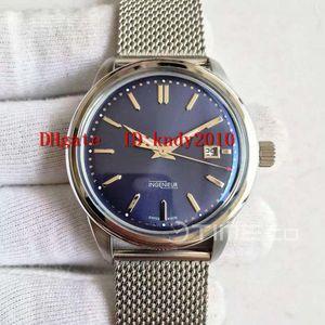 """HKF Ingenieur IW323310 de la vendimia masculina del reloj de 42,5 mm de acero inoxidable automático """"Le Petit Prince"""" Edición Esfera Azul A2892 resistente al agua"""