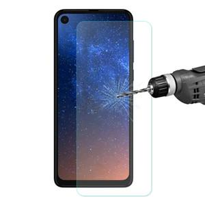 Pour Motorola Moto One Vision Enkay de 9H 2.5D courbes bord du film en verre trempé
