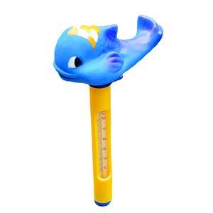 Bebê termômetro peixes dos desenhos animados de animais Piscina Spa Tub Sensor de água Floating Thermometer Nova