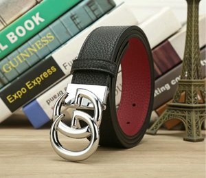 RAINIE SEAN Mens Belt For gu̴cci Jeans Coffee Real Leather Pin Buckle Belts Male Skull Designer Genuine Leather Accessories Belt 125c