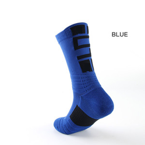 Al por mayor de moda de los hombres calcetines de los deportes al aire libre del tobillo transpirable grueso Baloncesto calcetines que va de excursión de escalada para adultos de sexo masculino 2019