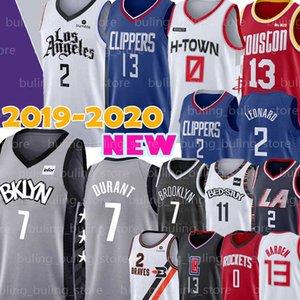 Kawhi Clippers 2 Leonard Jersey LA Houston James 13 Harden Rockets Russell 0 Westbrook Brooklyn Kyrie Nets 11 Irving Kevin 7 Durant George