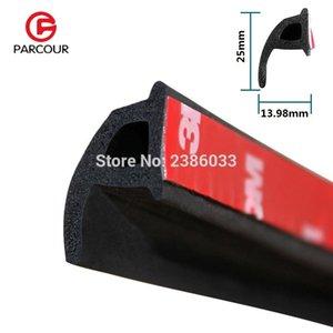 1 Meter P Tipo 3M Car Seal caucho puerta Motor Seal Strip Burlete de aislamiento de sonido Burlete Seals Car StripHollow