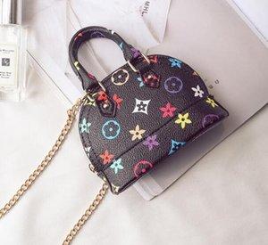 Продвижение детские кошельки маленькие девочки подарки малыш кошелек малыш Мини сумка дети искусственная кожа Shell одно плечо сумки