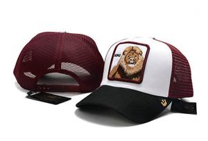 Goorin Bros Réglage de la série des animaux Cougar Lion Baseball électrique Broderie Protection contre le soleil Cap