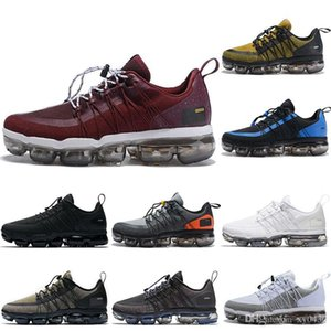 2020 Burgundy Crush Run UTILITY running shoes mens REFLECTIVE Medium Olive Black White designer mens trainers sports sneakers 40-45