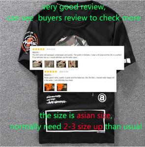 Lässiges T-Shirt Herrenmode Designer Shirt Schwarz Weiß Orange Größe S-XXL Baumwollmischung mit Rundhalsausschnitt Short Sleeve Cartoon-Druck