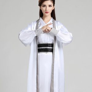 Chinese Folk Dance Costume per donna Hanfu Il costume antico cinese Dance Performance Donne