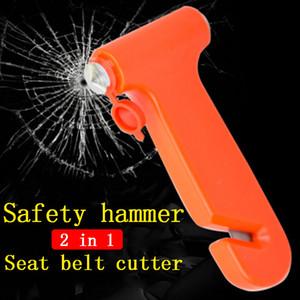 Auto Hammer Utile Breaker Glass Hammer cintura di sicurezza Cutter di sicurezza di emergenza salva-vita lavora il trasporto libero da DHL