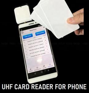 블루투스 UHF RFID 리더 UHF 카드 리더 H3 용 오디오 포트 잭 포트가있는 H3 U 코드 칩 Android Android IOS 헤드폰 잭
