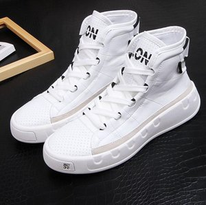 Bottes Hommes Casual cheville Printemps Automne Hiver High Top Loisirs Chaussures Homme Luxe Youth Trending Chaussures