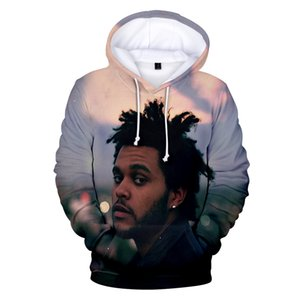 the weeknd 3D hoody women men 2019 Aikooki New Sale Fashion Print Casual Hip Hop the weeknd 3D hoodie Casual Coats tops