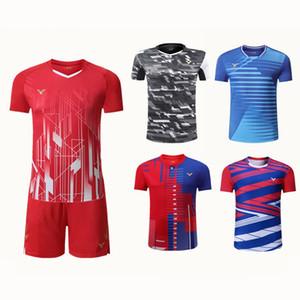 2020 Victor badminton sport shirt suits men / women, quick-dry tennis shirt short short short short short, table tennis contain sports territ