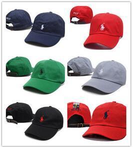 2018 Новой мода женщины людей хип-хоп бейсболки Регулируемой кость Snapback Cap поло Basic Hat бейсболка шапки для мужчин женщин спортивного гольфа