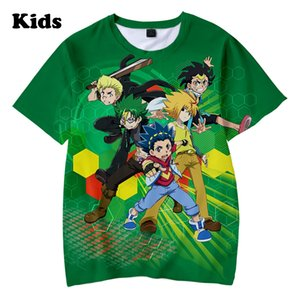 boys girls T-shirts print Beyblade Burst Evolution Kids Casual Summer children's 3D t shirt MX200611