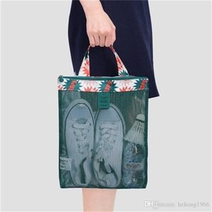 New Creative Sandy Beach Travel Shopping Storage Net Wash Bag Multi Color Summer Swimming Lady Reseau Mesh Packet High Quality 4 7ph