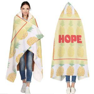Симпатичные ананасы Повторять Одеяло для Couch кровать животных Cobertor Para Inverno