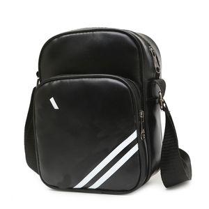 Strisce del progettista di marca sacchi per cadaveri trasversali logo stampato 3 modelli di spalla singolo sacchetto per gli uomini di lusso Cross-corpo unisex