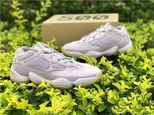 With Box Soft Vision 500 Stone Bone White Running Shoes Mens Womens Utility Black Salt Kanye Wyezzysyezzyboost350v2