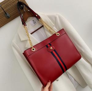 La bolsa de diseñador de las mujeres de la cadena de moda bolso de hombro Bolsas de gran capacidad temperamento metal animal Cabeza de alta calidad de las mujeres de bolso