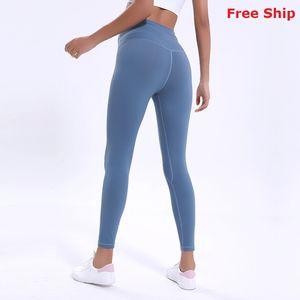 colore solido migliore qualità delle donne dei pantaloni di yoga a vita alta leggings usura sport palestra di fitness elastico signora collant complessiva pieno allenamento