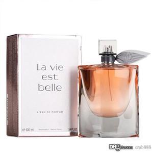 Perfume clásico para las mujeres Hermosa 75ml EDP vida 2.5Floz Eau de Parfum La Vie Est Belle cinta botella de diseño nuevo en caja
