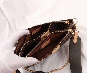 2019 FAVORITE Borsa a tre pezzi Borsa classica per gioielli Borse a tracolla in pelle ORIGNAL alta Borse a tracolla Messenger Borse M44823