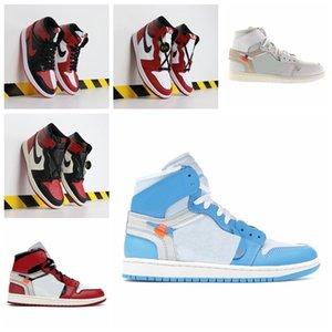 Stock x Travis Scott Men AirRetroAJ1sneakers Basketball Shoes White 1s High OG Game Royal Banned Shadow Bred Toe NRG UNC