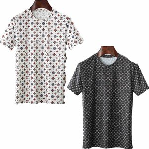 Mens Designer T-Shirt 2020 Luxury Men's Designer Polo Summer Short Sleeve Lapel Stand Collar Short Sleeve Medusa Shirt Top