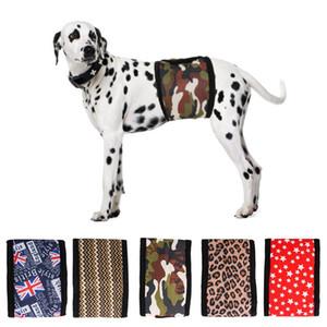 Bandas del vientre lavables reutilizables para perros Perro ajustable Pañales Pañales cachorro macho Wrap perro masculino Pañales