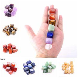 Natural Crystal Chakra Stone 7pcs Set Natural Stones Palm Reiki Healing Crystals Gemstones Home Decoration Accessories RRA2812