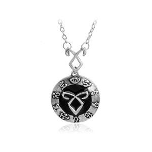 Angelic Power Rune Mortal Instruments esinlenerek Kolye kolye moda takı