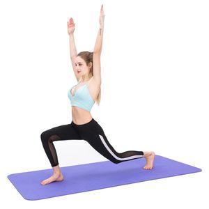 New atacado 10 milímetros de espessura Yoga Mat antiderrapante Exercício Pad Saúde perder peso fitness Durable Academia de Ginástica Mats 1830 * 610 * 10mm