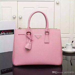 Оптовая продажа-новая мода real cowhide натуральная кожа saffiano сумки для женщин messenger высокое качество известный бренд дизайнерские сумки с логотипом