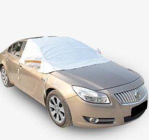 Universal Half Car Covers Pare-soleil Foil Styling étanches Thicken voiture neige Bouclier Couvertures anti-UV Protection neige pour les voitures