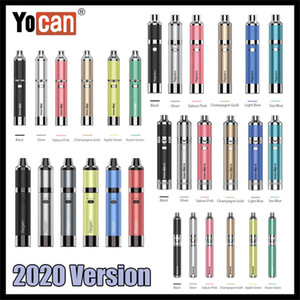 Authentische Yocan Evolve Plus XL Regen eolve D Magneto Wachs Kräuterkonzentrat Vape Stift Verdampfer Kit 2020 Version 100% Original