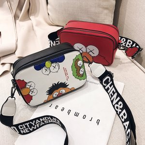 Borsa a tracolla New Fashion Sesame Street Borsa Elmo Cookie Big Eyes Red Blue per bambini Regali per adulti