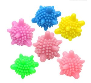 5cm Starfish Magic Laundry Ball Solide Bunte PVC Waschkugel Trockner Bälle für Wäsche Wiederverwendbare Waschmaschinenkugeln zum Reinigen von Kleidung