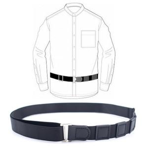 Shirt Stay Men's Belt Shirt Non-Slip Wrinkle Bandage Unisex Buckle-Free Elastic Adjustable Suspenders for Hallowmas Christmas gift