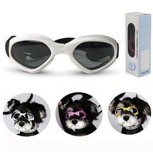 Un pieghevole Pet Occhiali di sicurezza del cane Occhiali antivento Sun-prova degli occhiali da sole protettivi Occhiali Outdoor Occhiali Dog Supplemento della decorazione