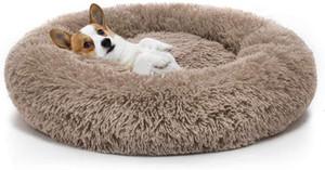 Chien orthopédique Lit confortable Donut Cuddler Round Dog Bed Ultra Soft Washable Dog et lit de coussin Cat (23 '' / 30 '' / 36 '')