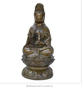 """NEW""""Pure hand carved peace Guanyin ornaments"""