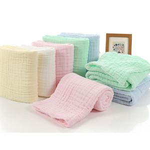 110 * 110CM استحمام الطفل المنتجات الطفل منشفة حمام 100٪ بتمشيط القطن بطانية الرضع التقميط بطانية منشفة