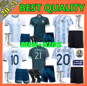 hijos de los hombres 2020 Argentina jersey de fútbol 20 21 Copa América Messi Dybala Di María Higuaín ICARDI Kun Aguero camisetas de fútbol